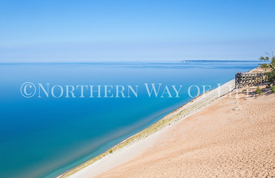 overlook #9 at sleeping bear dunes: empire