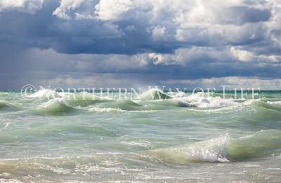 Lake Michigan: Frankfort, Michigan