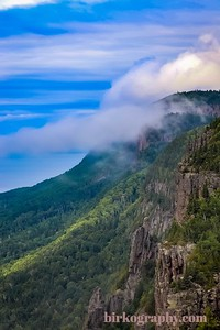 Looking north on the west side of Sleeping Giant Provincial Park, ON, Canada