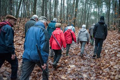 lieteberg wandeling 21 november 2017