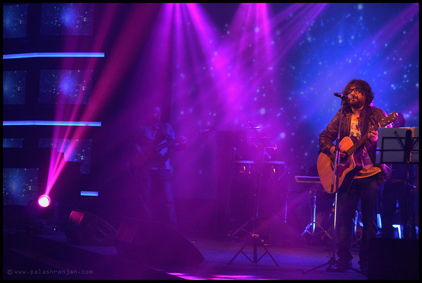 Pritam performing in one of the show