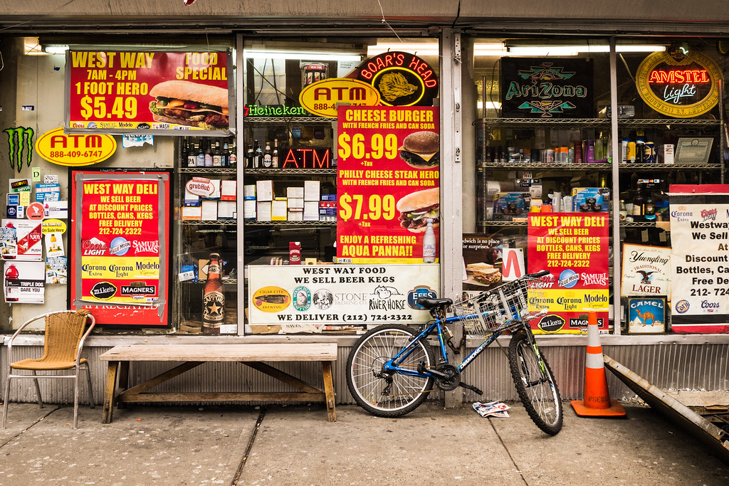 Convenience Store, Upper West Side, NYC