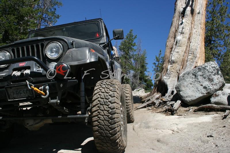Slick Rock Trail, Lake Tahoe Hi-Low 4x4 Club