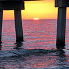 Sunset, Ft Myers Beach Pier, Florida