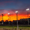 Churchill Downs sunset from the track kitchen.  9/26/2019