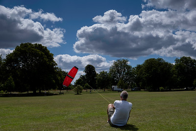 Kite Flying, Ealing Common, London, United Kingdom