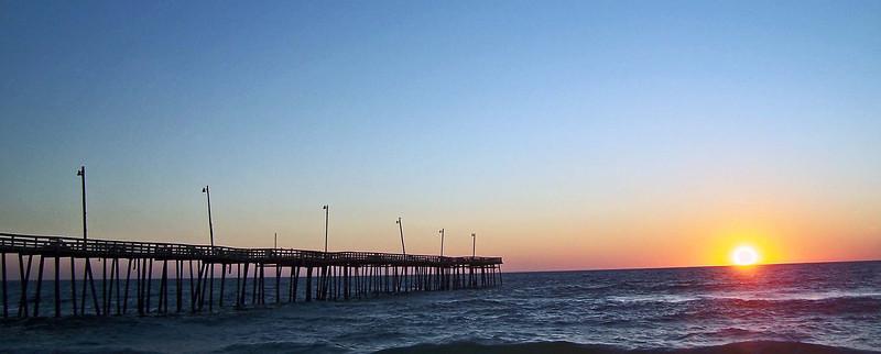 rodanthe blue sunrise