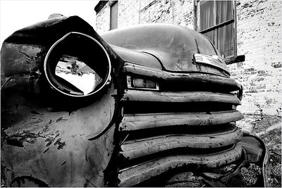 What would photography be without old cars to photograph?