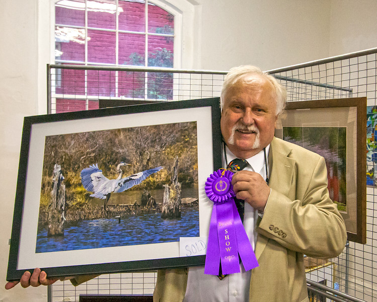 """Best Of Show"" at the 31st Annual Carbon County Art League Show, in Jim Thorpe, PA 06.03.2012"