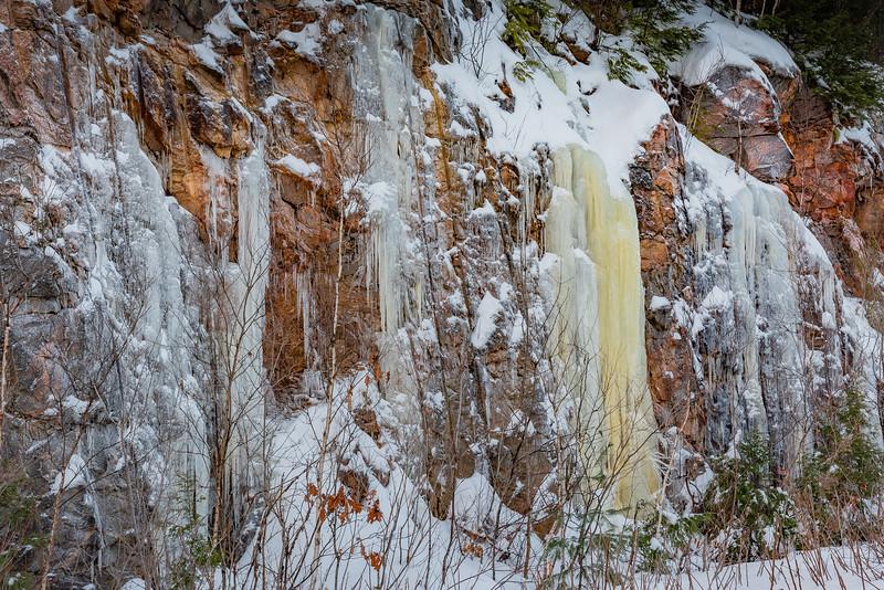Winter Roadside Quebec