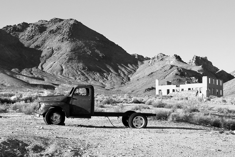 Ghost Town Truck