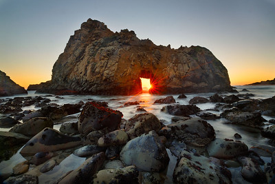 Pfeiffer Arch Sunset