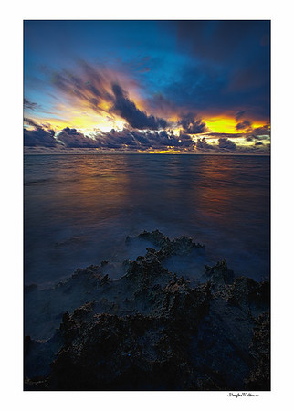 Dark Mystic Sunrise - Grand Cayman
