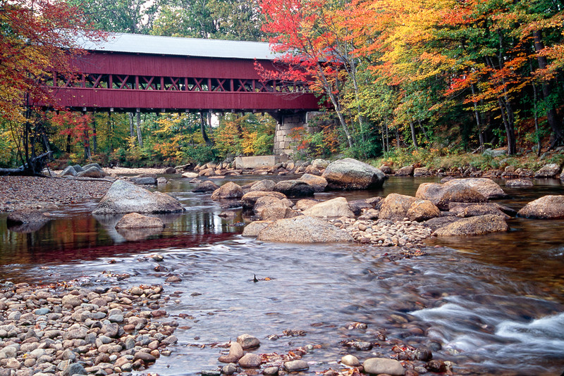 Covered Bridge over the Swift River, Conway, New Hampshire
