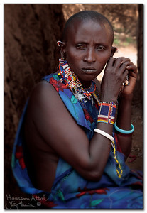 "Massai woman, Kenya ""fine art prints"""