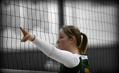 Sarah Zelko playing for the State University at Brockport...