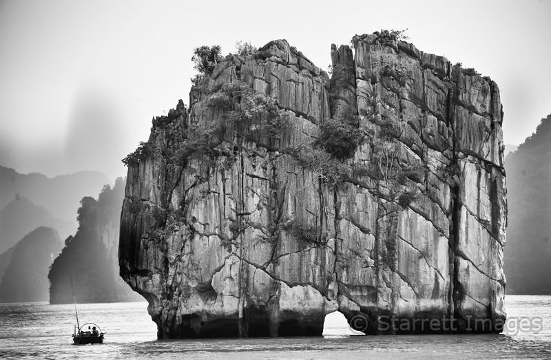 Island in Halong Bay