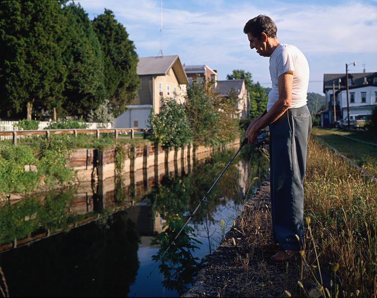 man fishing lambertville nj