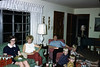 Christmas Eve at Mother and Daddy's -- Brenda, Aunt Joan, Uncle Bob, Mark, Don and Gary Wallin.