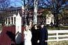 Fall in Old Salem, North Carolina -- the usual suspects.