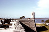The old Spanish fort in St. Augustine, Florida.