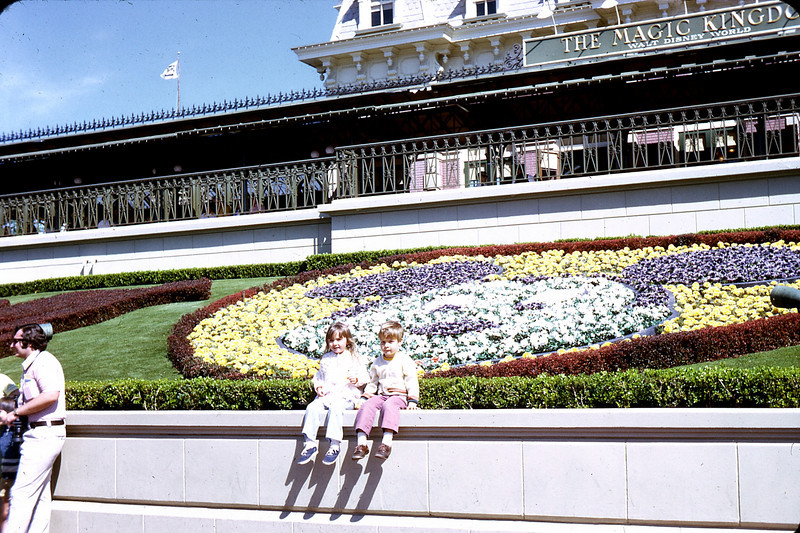Spring at Disney World. Jamie and Darrell Cunningham.