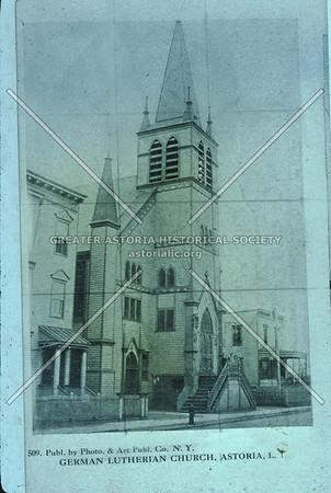 German Lutheran Church, 31 St., Astoria