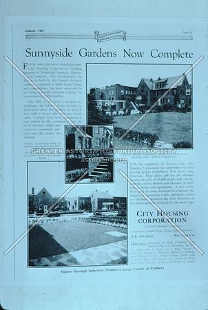 Sunnyside Gardens brochure