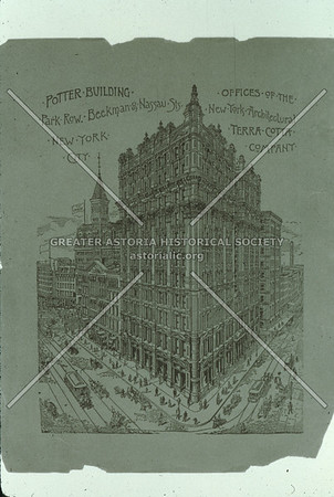 Potter Building, constructed with NY Architectural Terra Cotta