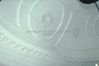 Ceiling moldings, Steinway Mansion, Astoria