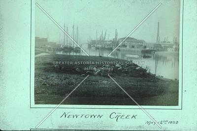 Newtown Creek, 1883
