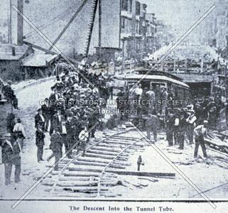 LIC trolley tunnel
