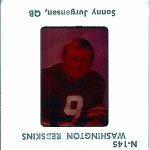 Sonny Jurgensen 1972 TV Slides