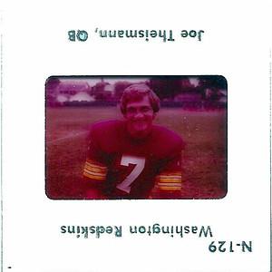 Joe Theismann 1975 TV Slides