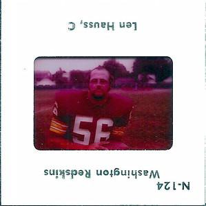 Len Hauss 1975 TV Slides