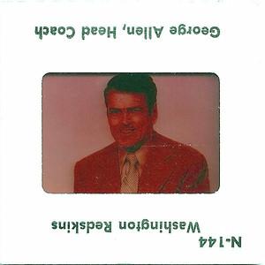 George Allen 1977 TV Slides