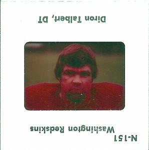 Diron Talbert 1977 TV Slides