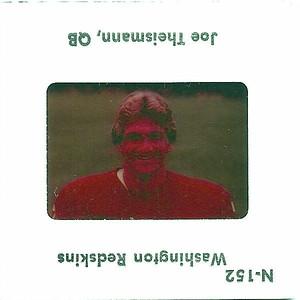 Joe Theismann 1977 TV Slides