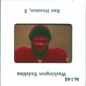Ken Houston 1977 TV Slides