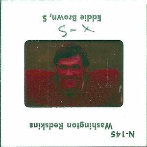 Eddie Brown 1977 TV Slides