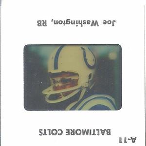 Joe Washington 1979 TV Slides