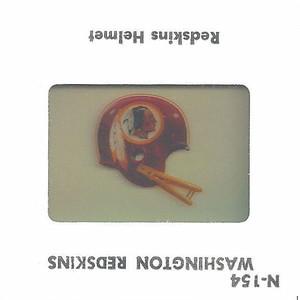 Redskins Helmet 1979 TV Slides