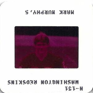 Mark Murphy 1981 TV Slides