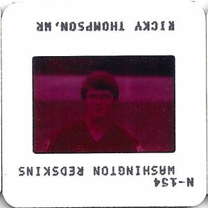 Ricky Thompson 1981 TV Slides