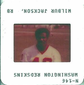Wilbur Jackson 1982 TV Slides