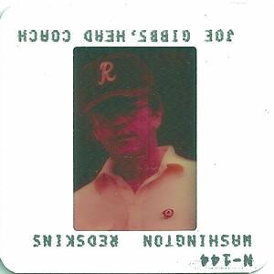 Joe Gibbs 1982 TV Slides