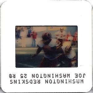 Joe Washington 1984 TV Slides