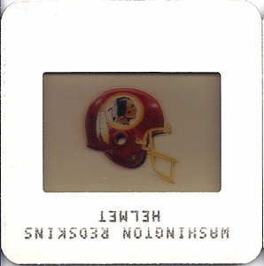 Redskins Helmet 1984 TV Slides