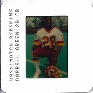 Darrell Green 1984 TV Slides