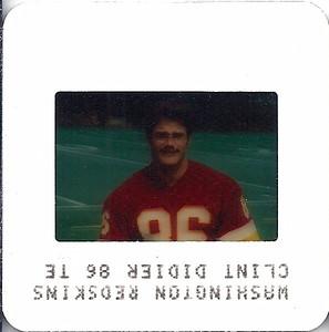 Clint Didier 1984 TV Slides